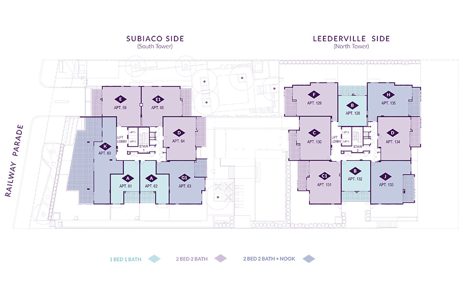 Level 8 Floorplan